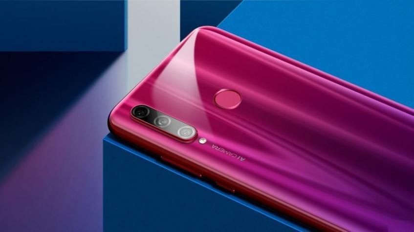 Фотогалерея дня: Honor 20i в трех цветах появился на официальном сайте