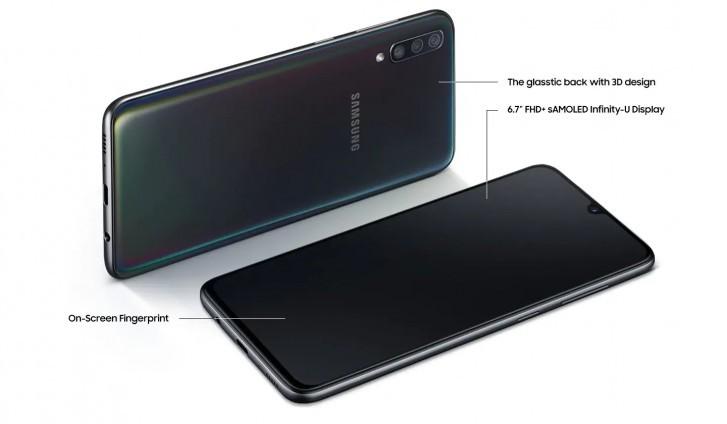 Анонс Samsung Galaxy A70 с емкой батарейкой и двумя 32 Мп камерами – фото 2