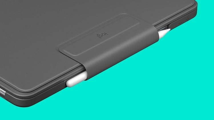Logitech Slim Folio Pro: чехол с клавиатурой для планшетов Apple iPad Pro
