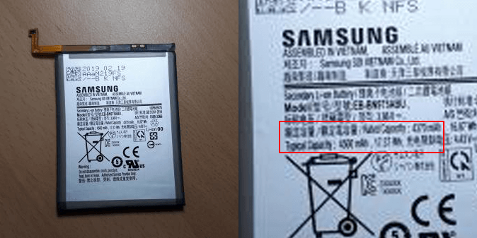 Samsung Galaxy Note 10 Pro получит аккумулятор емкостью 4500 мА·ч