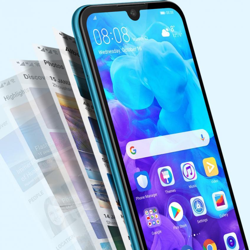 Представлен бюджетный смартфон Huawei Y5 2019 - 2