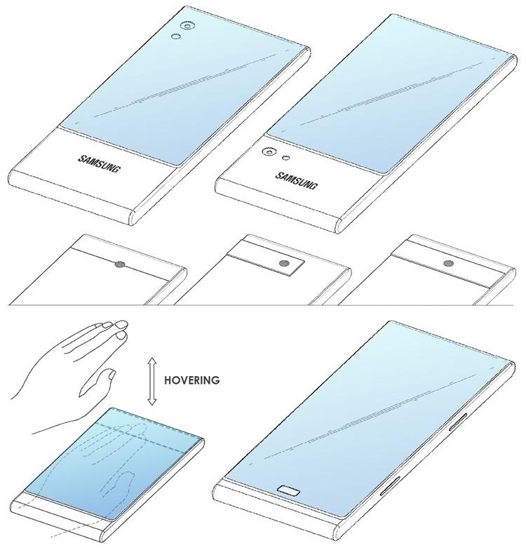 В Samsung придумали смартфон с трёхсекционным дисплеем