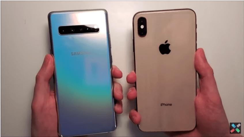 Видео дня: Samsung Galaxy S10 5G сравнили с Apple iPhone XS Max по скорости