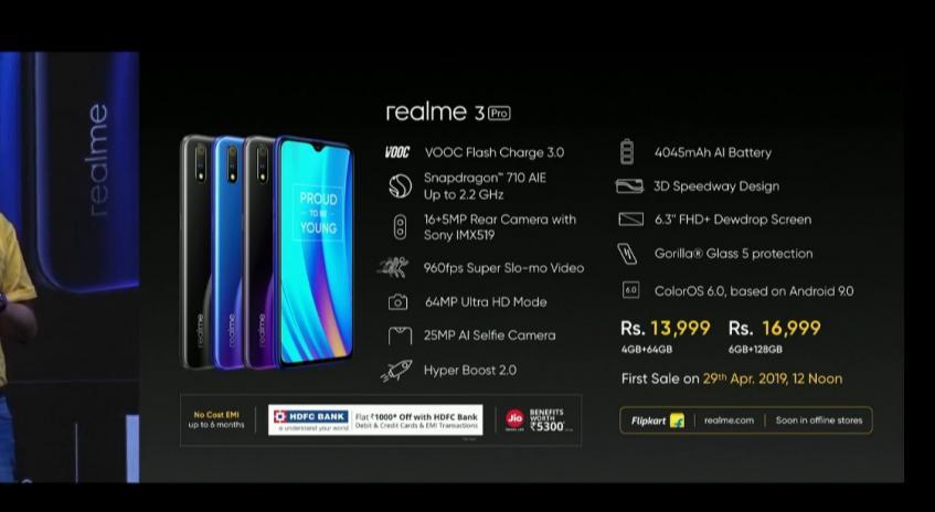 Сильный конкурент Redmi Note 7 Pro. Смартфон Realme 3 Pro получит SoC Snapdragon 710, поддержку Super Slo-mo и большой аккумулятор