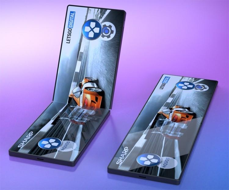 Игры в новом формате: Sharp создаёт гибкий смартфон для геймеров