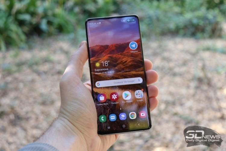 Samsung сообщила о стоимости ремонта экрана смартфонов семейства Galaxy S10