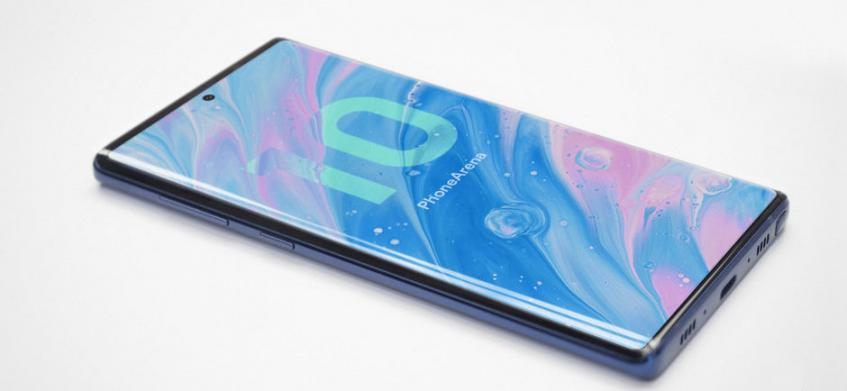 Концепт Galaxy Note 10