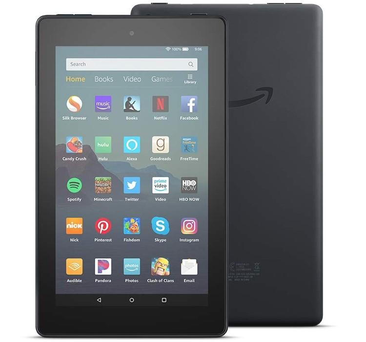 50-долларовый планшет Amazon Fire 7 стал быстрее и нарастил память