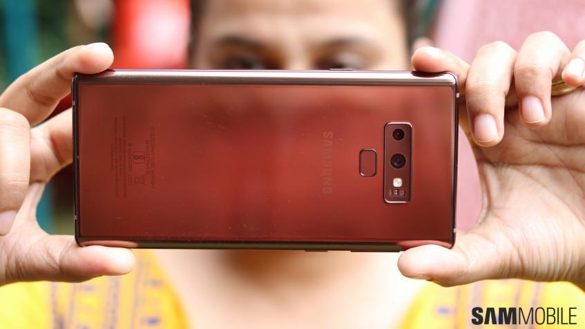 Samsung добавила Galaxy Note 9 новую функцию камеры, как у Galaxy S10.