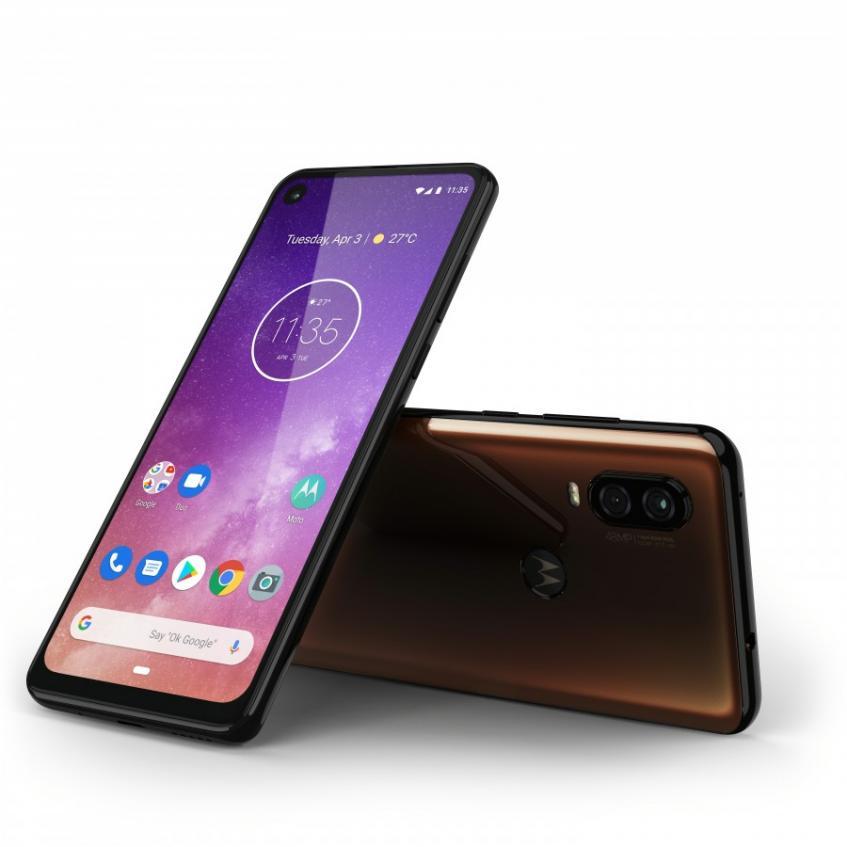 Представлен смартфон Motorola One Vision - 3