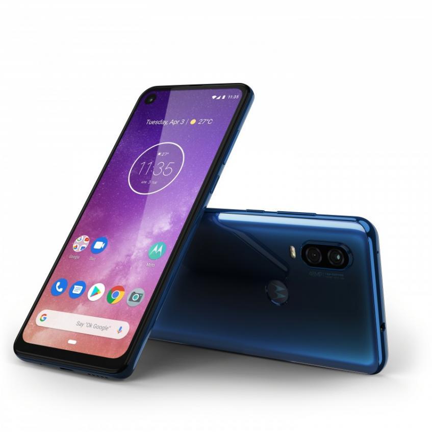 Представлен смартфон Motorola One Vision - 2