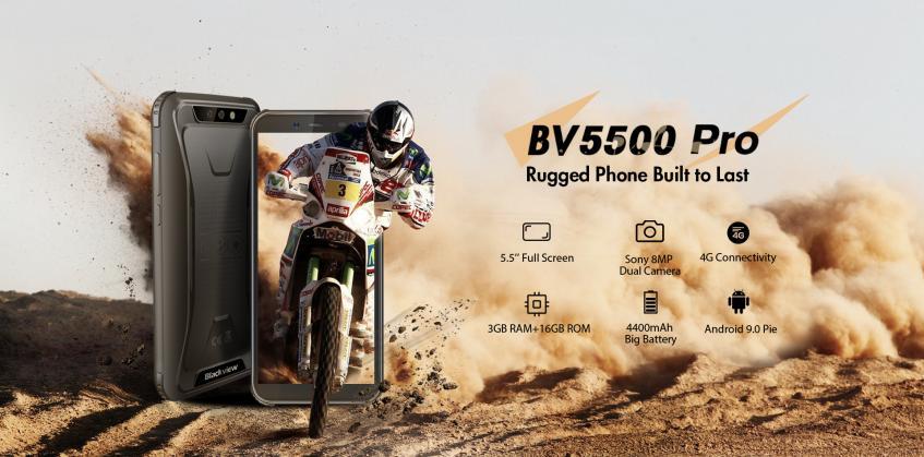 Blackview BV5500 Pro: защищенный аппарат с NFC и Android Pie – фото 2