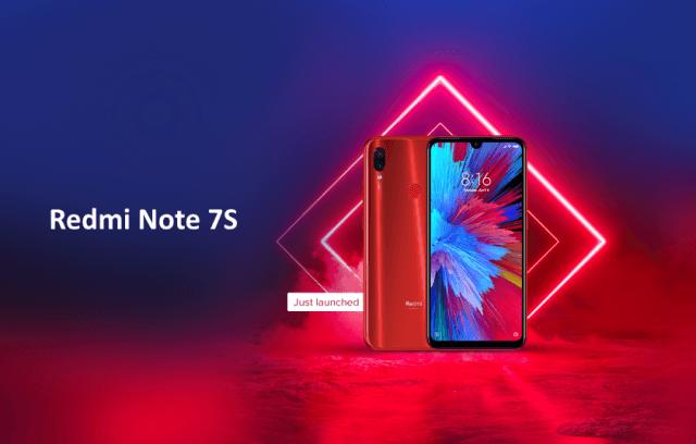 Представлен смартфон Redmi Note 7S - 1