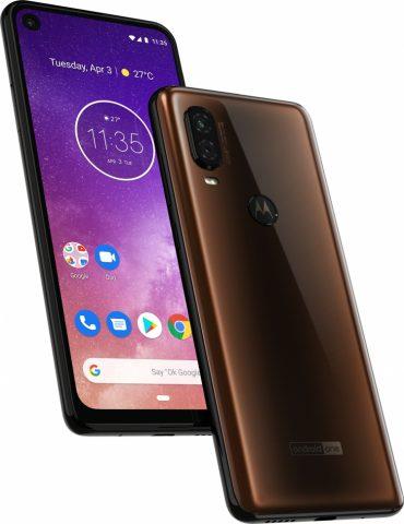 Представлен смартфон Motorola One Vision - 1