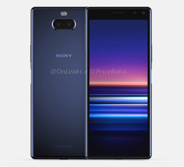 Sony Xperia 20: смартфон среднего уровня предстал на рендерах