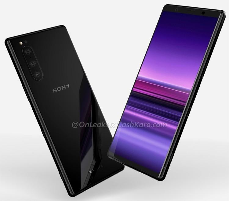 Смартфон Sony Xperia 2 с тройной камерой на рендерах и в концепт-видео