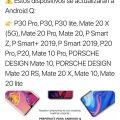 Официально: список смартфонов Huawei и Honor, которые обновят до Android Q – фото 1