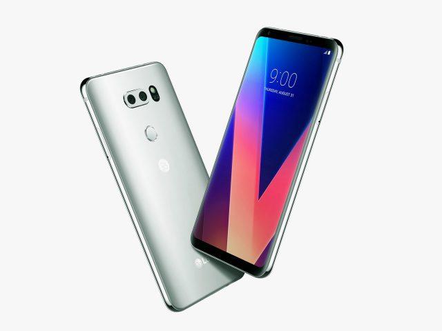 Смартфон LG V30 получил обновление до Android 9 Pie - 1