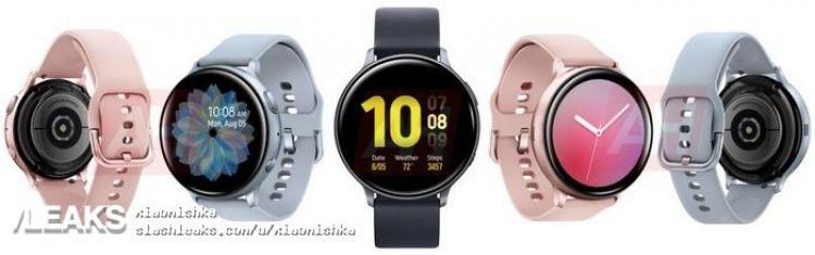 Фотогалерея дня: все цвета Samsung Galaxy Watch Active 2