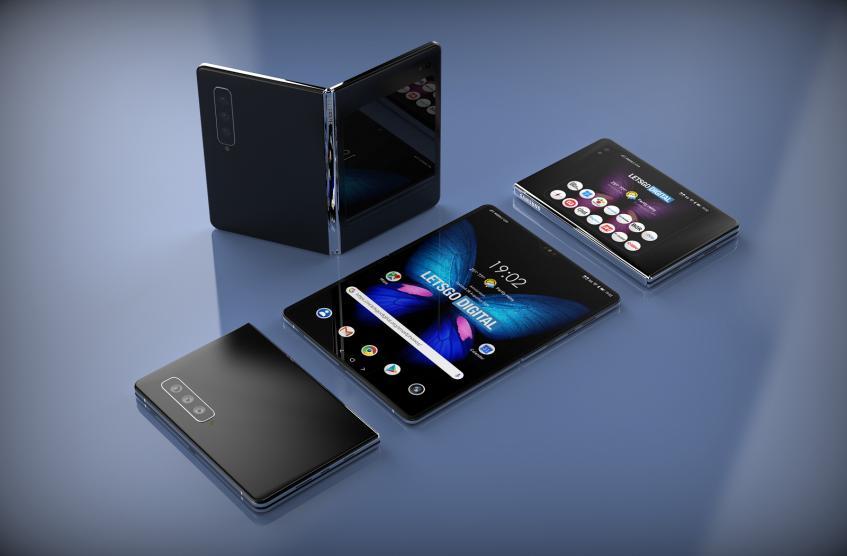 Фотогалерея дня: складной смартфон Samsung Galaxy Fold 2