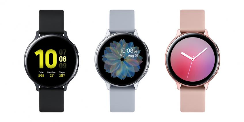 Samsung представила умные часы Galaxy Watch Active 2