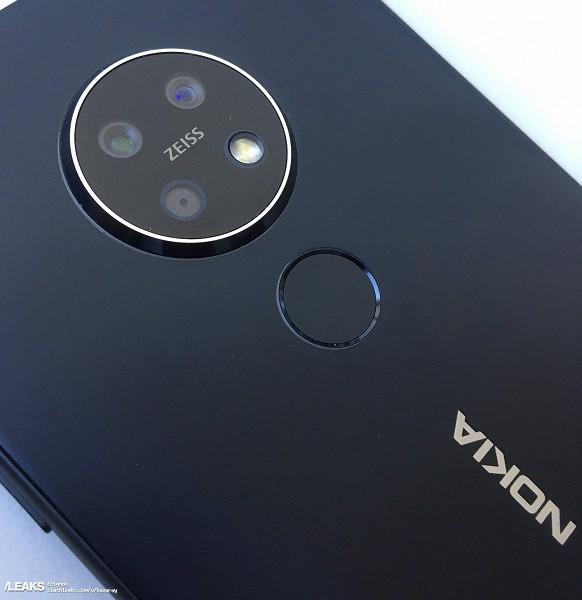 Nokia 7.2 красуется на первой фотографии в высоком разрешении