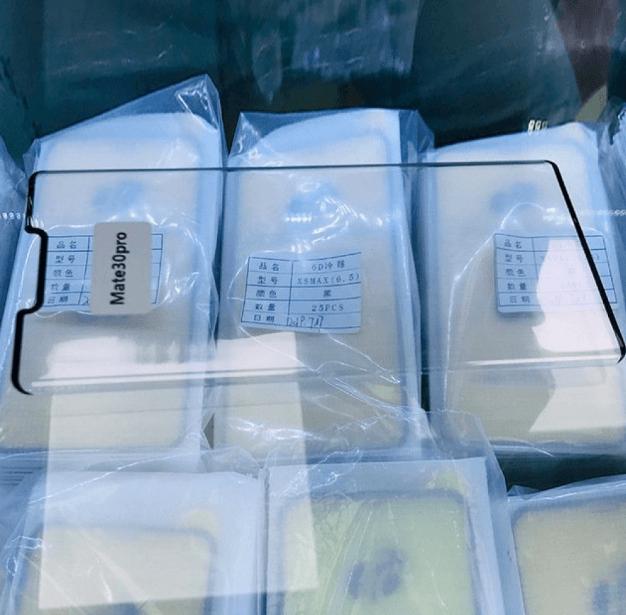 рендер Huawei Mate 30 Pro