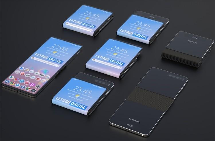 Samsung раздумывает над смартфоном, изгибающимся в противоположные стороны