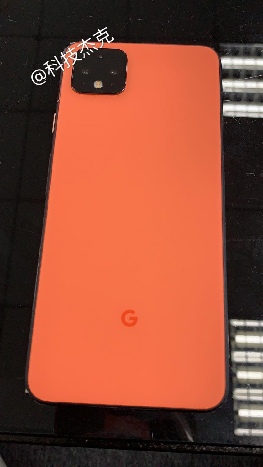 Больше фото оранжевого Google Pixel 4 XL