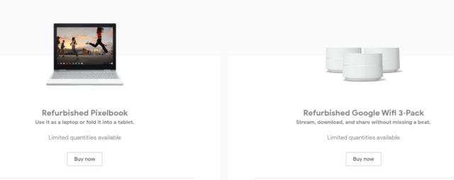Google начала продавать восстановленные устройства - 1