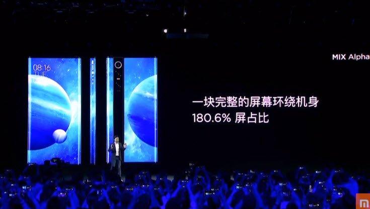 Представлен революционной смартфон Xiaomi Mi Mix Alpha