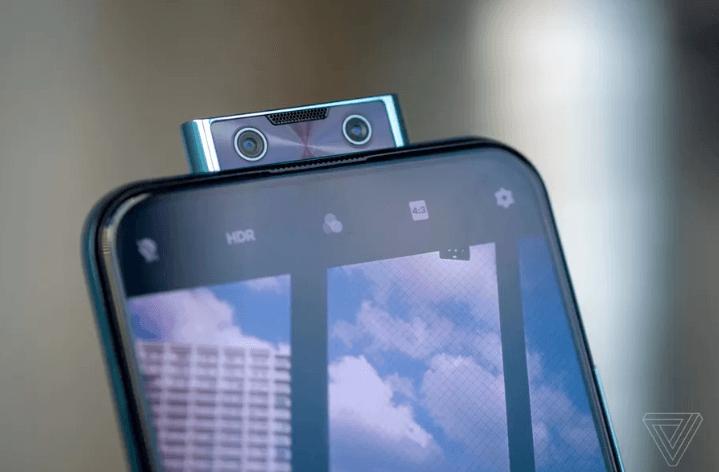 камера Vivo V17 Pro