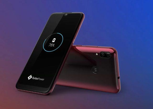 Представлен смартфон Motorola Moto E6s - 1