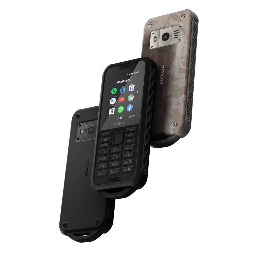 защищенный Nokia 800 Tought