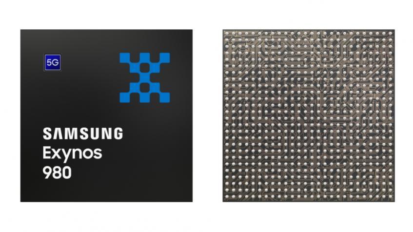 Представлена Samsung Exynos 980 - первая SoC Samsung со встроенным модемом 5G