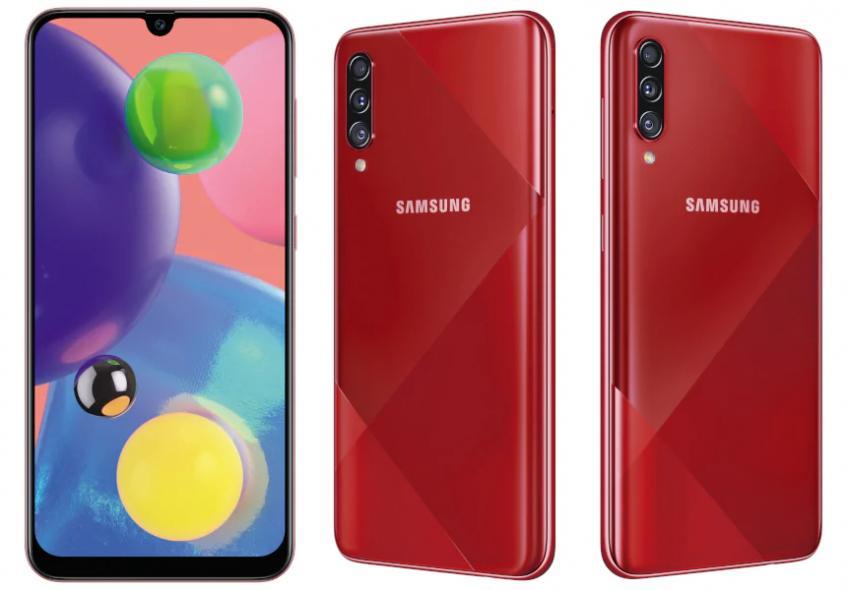Представлена улучшенная версия Galaxy A70 с 64-мегапиксельной камерой - 1