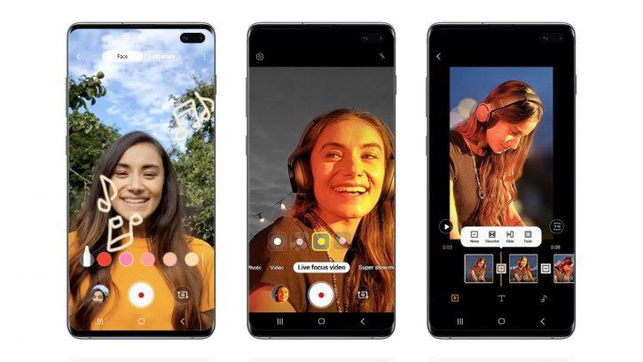 Samsung Galaxy S10, S10+ и S10e получат фишки Galaxy Note 10 в октябре