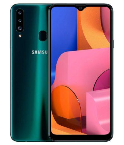 Samsung представила смартфон Galaxy A20s - 2