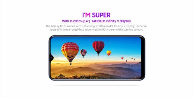 Samsung представила смартфон Galaxy M10s - 2