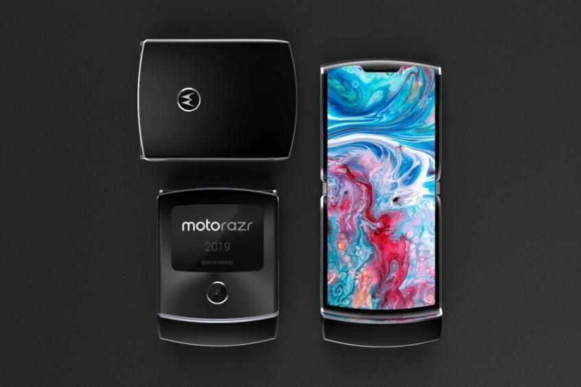 Складной Motorola RAZR дебютирует до конца нынешнего года – фото 2