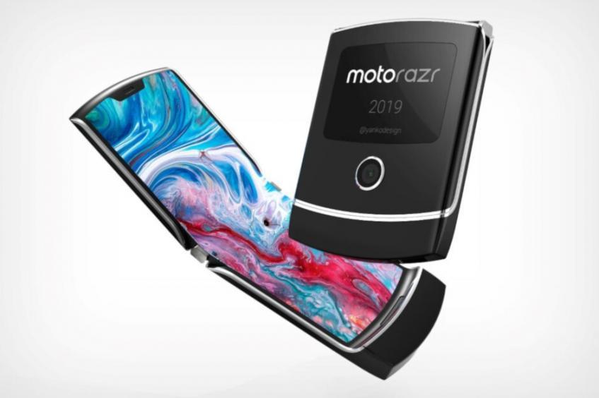 Складной Motorola RAZR дебютирует до конца нынешнего года
