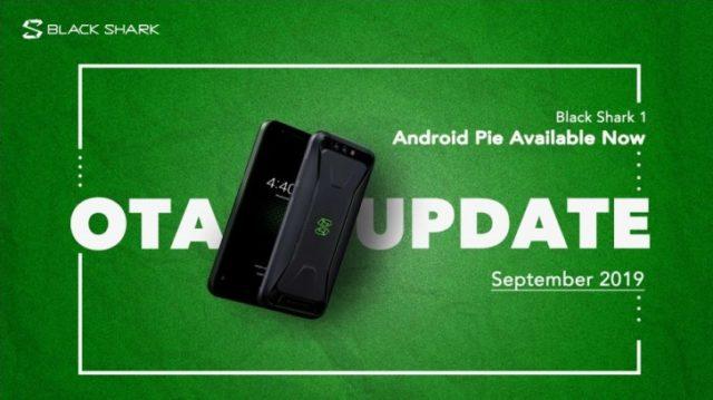 Смартфон Xiaomi Black Shark получил обновление до Android Pie - 1