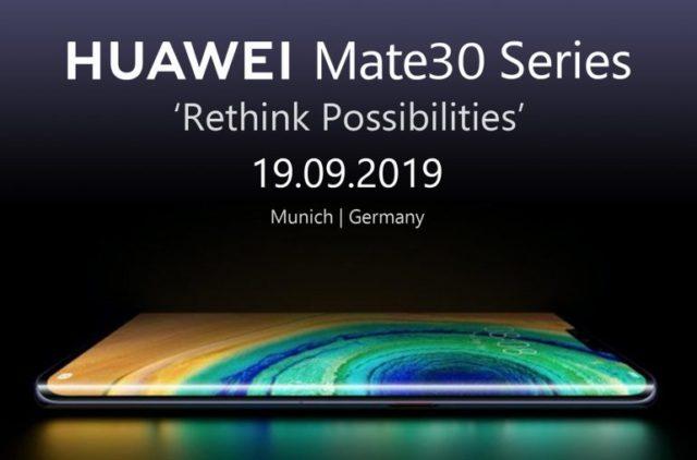 Смартфоны Huawei Mate 30 не будут продаваться в Центральной Европе из-за отсутствия приложений Google - 1