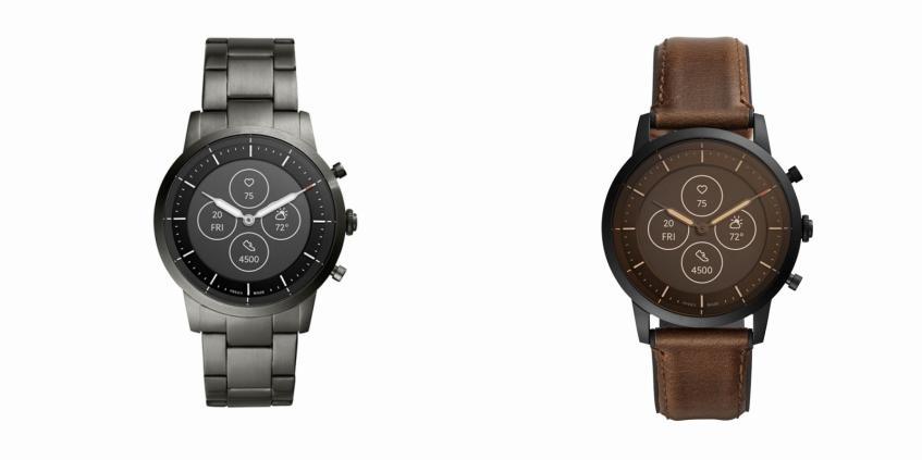 Умные часы Fossil Collider Hybrid Smartwatch HR получили аналоговые стрелки и экран E Ink