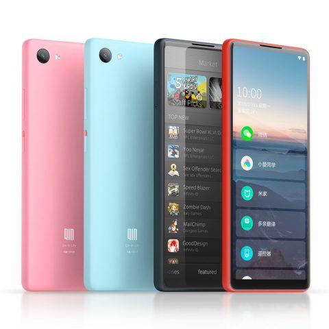 В продажу поступил смартфон Xiaomi Qin 2 с самым вытянутым экраном - 1
