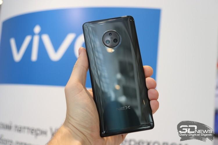 Vivo проектирует новые смартфоны семейства NEX
