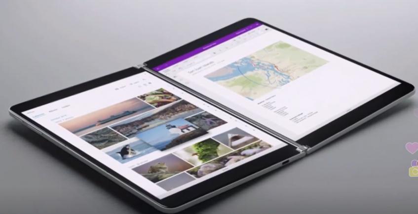 Анонс Microsoft Surface Neo: складной планшет с двумя дисплеями – фото 1