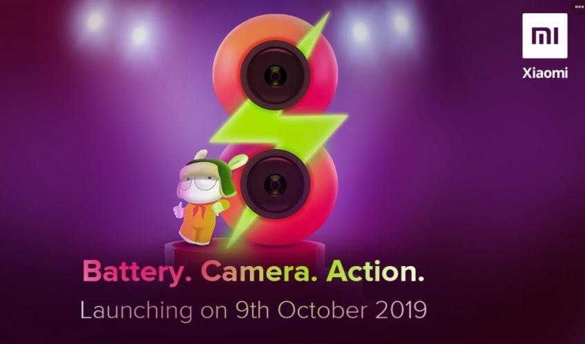 Потенциальный бестселлер Redmi 8 представят 9 октября