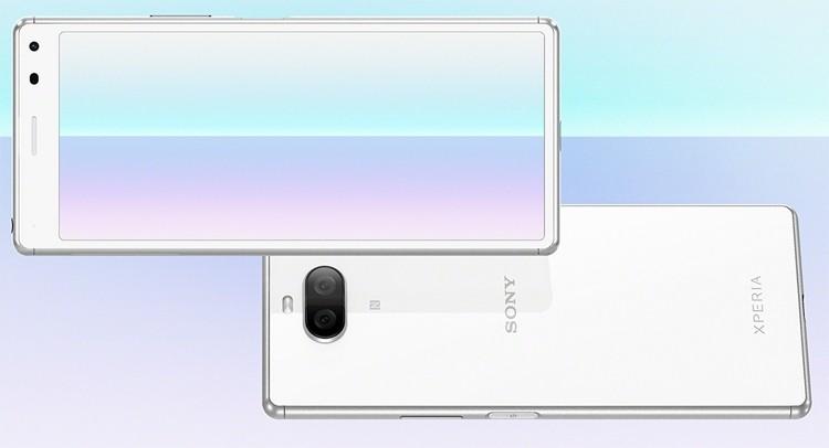 Sony Xperia 8: смартфон с экраном 21:9 и двойной камерой