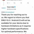 Honor Play не получит EMUI 10. Пользователи негодуют